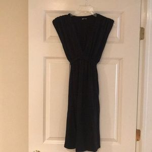 Splendid black V-neck dress size medium